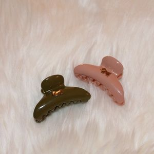 Juicy Couture Accessories - Juicy Couture hair clips